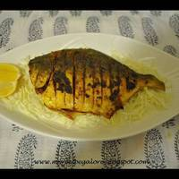 Pomfret fry- Malvani style