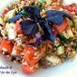 Toasted Barley Salad with Fresh Herbs, Heirloom Tomatoes & Zucchini (from the Culinary Institute of America, St. Helena, CA)