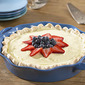 Lemon Curd Pie for the Fourth