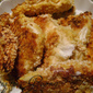 Oven Fried Fluke Filet