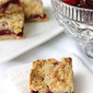 Summer Cherry & Crystallized Ginger Crumb Bar Recipe