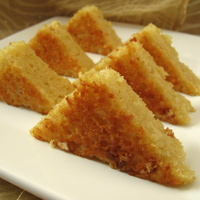 Image of Apple Flavoured Orange Cake Recipe, Cook Eat Share