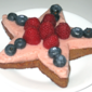 Recipe #131: Star-Spangled Strawberry Mousse Tartlets Decorated with Fresh Seasonal Berries