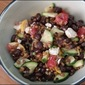 Scratch Made: Black Bean, Balsamic and Feta Wheatberry Salad