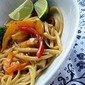 Veggies and Noodles with Thai Coconut Curry Sauce