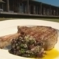Cowboy Black & Blue Steak with an Olive relish