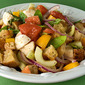 Panzanella—Bread and Vegetable Salad