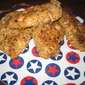 Parmesan-crusted oven fried chicken