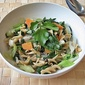 Watercress, Bok Choy and Cabbage Pasta (Salad)
