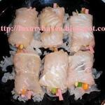 Steamed Dory Roll with Snow Fungus