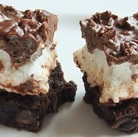 Image of Magically Delicious Marshmallow Crunch Brownie Bars Recipe, Cook Eat Share