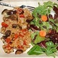 Red Rice with Sausage and Roasted Vegetables