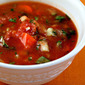 Hot sauce (Recipe: watermelon gazpacho)