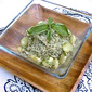 Fordhook Limas & Kelp Noodle Pesto with Lemon