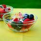Triple Berry Salad with Creamy Lemon Poppyseed Dressing