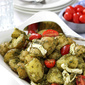 Pesto Potato, Tomato & Fresh Mozzarella Salad Recipe