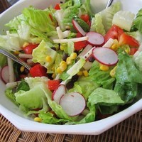 Image of Mexican Chopped Salad With Honey-lime Dressing Recipe, Cook Eat Share
