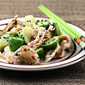 Sesame seeds (Recipe: cucumber and chicken salad with sesame ginger dressing)
