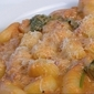 Gnocchi with a spicy tomato & mascarpone sauce