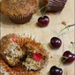 Cherry-Banana Crumbs Muffin