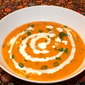 Moroccan Carrot Soup with Lentils