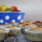 Tropical Muffins with Lime Mascarpone and Hunches