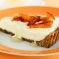 Image of Anzac Tart With Macadamia Praline & Cinnamon Syrup Recipe, Cook Eat Share