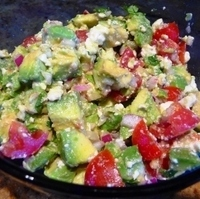 Image of Avocado And Feta Salad Recipe, Cook Eat Share