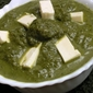 Cottage Cheese in Spinach Curry/Palak Paneer