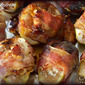 Broiled Pancetta Wrapped Figs with Feta