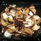 Grilled Marinated Eggplant and Onions