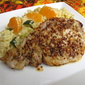 Mustard Pork with Orange Bulgar Wheat Salad