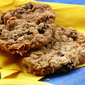 Soft Chewy & Healthy Oatmeal Raisin Cookies