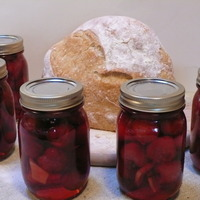 Image of Anyone Can Pickle! Cherries, Sweet, Spicy And Fast! Recipe, Cook Eat Share