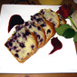 Blueberry Loaf With Blueberry Syrup