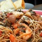CEimB Shrimp fra diavolo with spinach