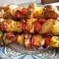 7 DAY GARDEN VEGETABLE CHALLENGE! DAY 5, Chicken, Pepper and Pineapple Kabobs