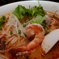 Tom Yum Goong (Thai sweet and sour soup with shrimp)