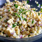 Fresh Basil Corn Salad