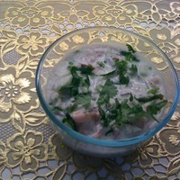 Indian Raita with Persian flavor