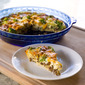 Sausage and Broccoli Breakfast Frittata (Crustless Quiche)