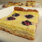 Blackberry Orange Custard Tart