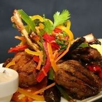 Hoisin Barbeque lamb chops