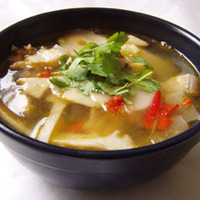 THOM YUM KAI MUANG Northern Style Chicken Soup