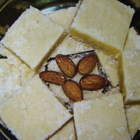 Image of Almond Burfi Recipe, Cook Eat Share