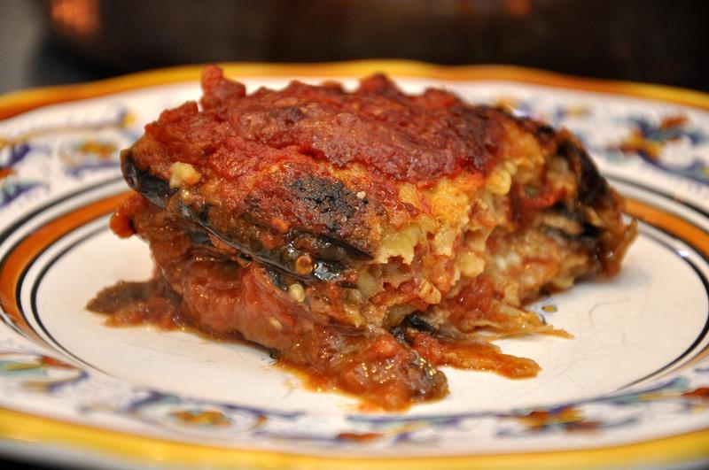 get recipe italian style eggplant parmesan melanzane alla parmigiana