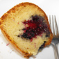 Sour cream cake with blackberry filling recipe