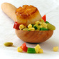 Sweet on Corn- Succotash and Perfectly Seared Scallops