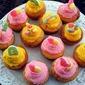 Sour Gummy Cupcakes
