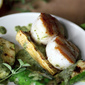 Grilled Zucchinis and Sea Scallops and Two Sauces